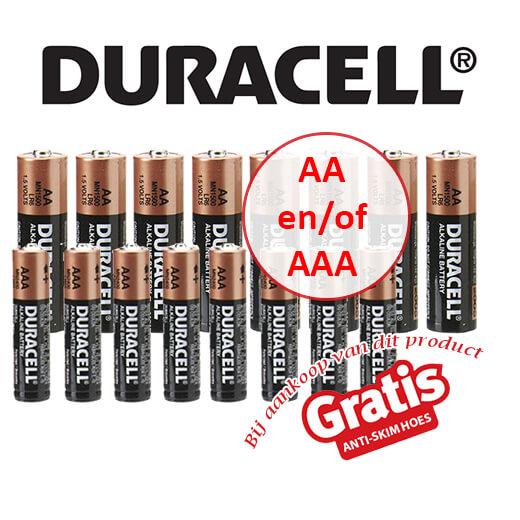 Originele Duracell AA en AAA batterijen, OP=OP!