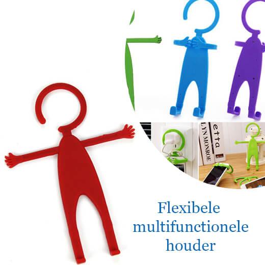 Flexibele multifuntionele telefoonhouder