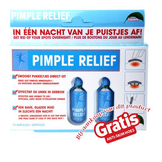 Snel van je puisten af met Lucovit Pimple Relief!