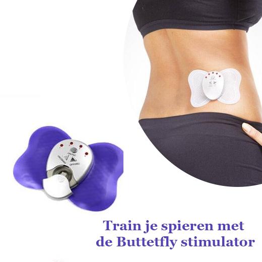 Train je spieren met de Buttetfly stimulator