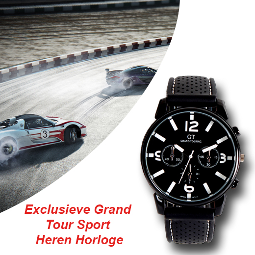 Exclusieve Grand Tour Sport Heren Horloge
