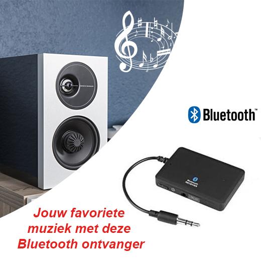 Jouw favoriete muziek met deze Bluetooth ontvanger
