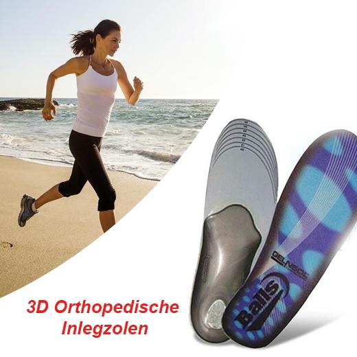 Pijnklachten bestrijden met de 3D Orthopedische Inlegzolen