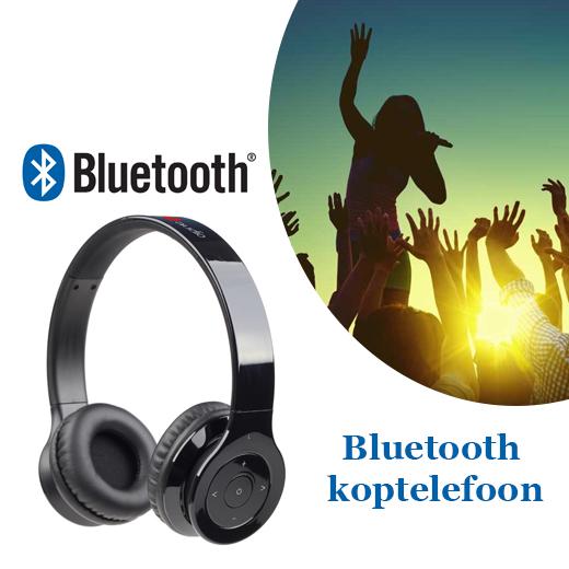 Speel jouw favoriete muziek af met deze Bluetooth koptelefoon