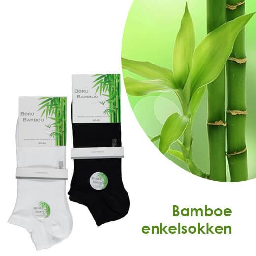 Elke dag schone sokken - 7-pack Bamboe enkelsokken