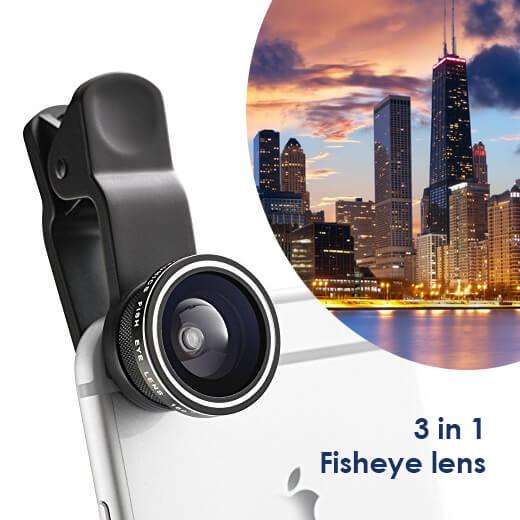 Prachtige foto's maken met de Fisheye lens voor je smartphone!