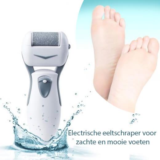 Electrische eeltschraper voor zachte en mooie voeten