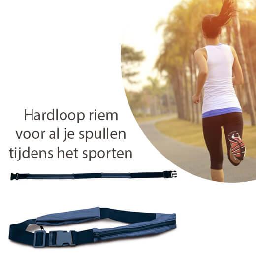 Tijdens het sporten je spullen mee met deze Hardloop riem