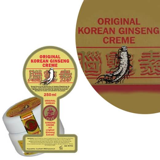 Original Korean Ginseng Creme 2 potten (250 ml)