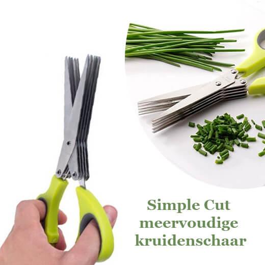 Geweldige Simple Cut meervoudige kruidenschaar