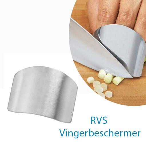 Bescherm je de vingers met de RVS Vingerbeschermer