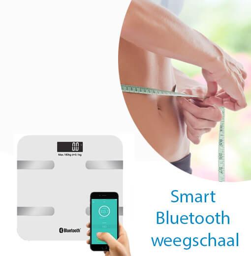 Je gezondheid goed bijhouden met de Smart Bluetooth weegschaal