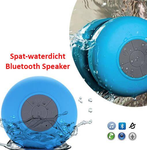 Spatwaterdicht Bluetooth speaker