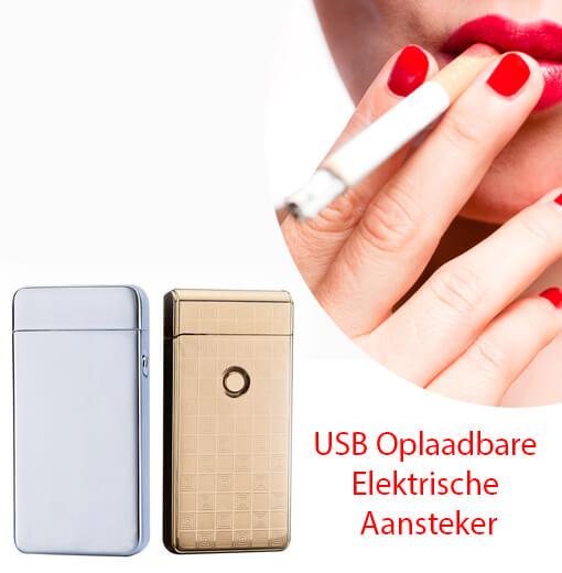 USB Oplaadbare Elektrische Aansteker zonder brandstof