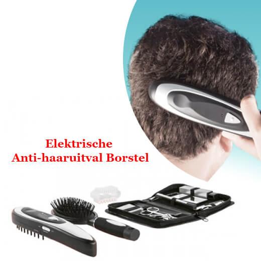 Elektrische Anti-Haaruitval Borstel met accessoires