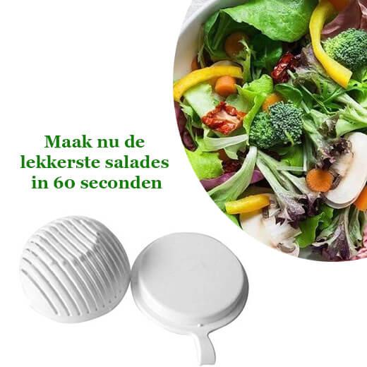 Maak nu de lekkerste salades in 60 seconden