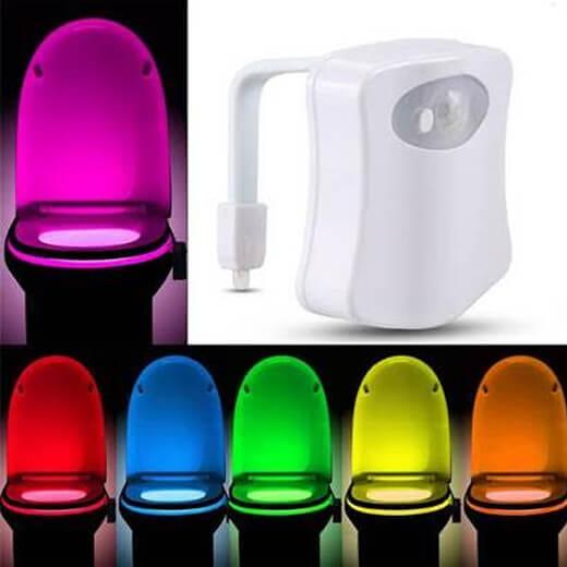 Sensor led verlichting voor je toilet for Bewegingssensor voor led verlichting