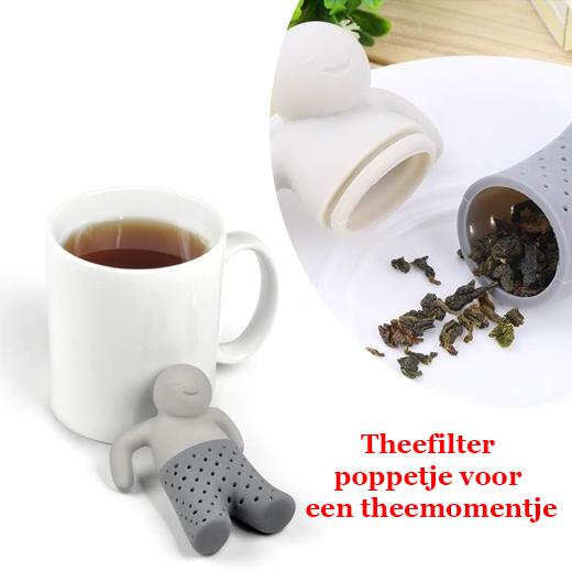 Tea Infuser, Theefilter poppetje voor een theemomentje
