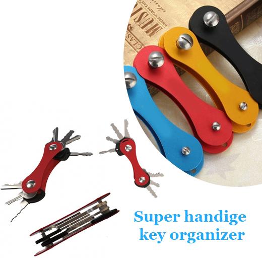 Geen grote sleutelbos, maar een Smart Key Organizer