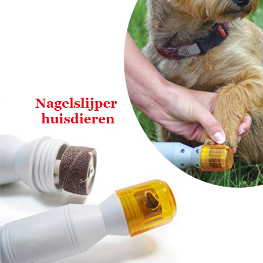 Elektrische nagelslijper voor uw geliefde huisdieren
