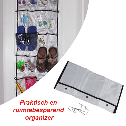 Slingeren jouw spullen ook door het huis? of heb je geen plek om ze op te bergen? met deze handige organizers ...