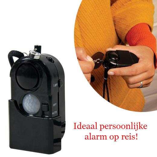 Ideaal persoonlijke alarm op reis of afgelegen gebieden