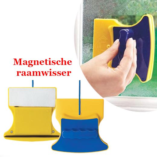 Magnetische raamwisser, superhandig!