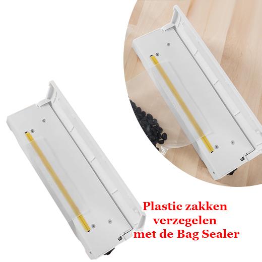 Opnieuw je plastic zakken verzegelen met de Bag Sealer