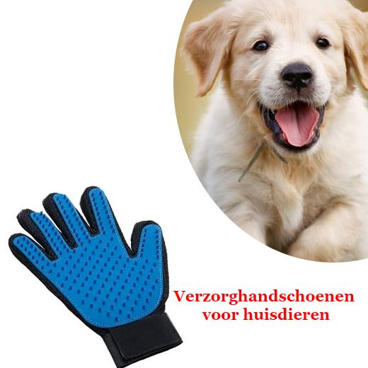 Verzorghandschoenen voor huisdieren