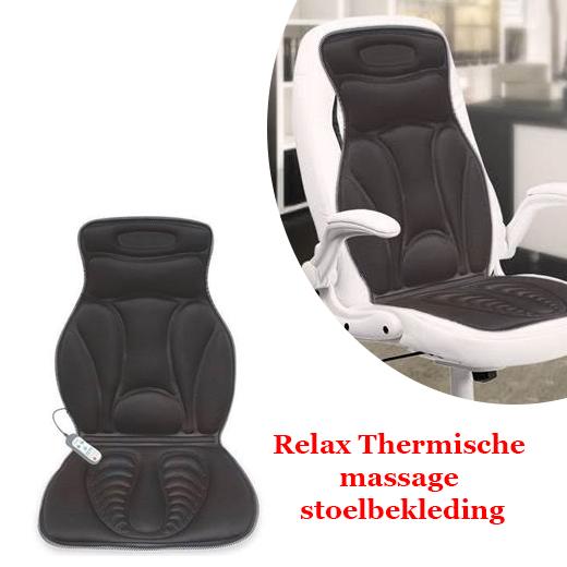 Relax Thermische massage stoelbekleding
