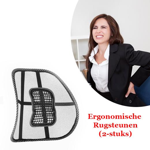 Ergonomische Rugsteun voor stoelen (2 stuks)