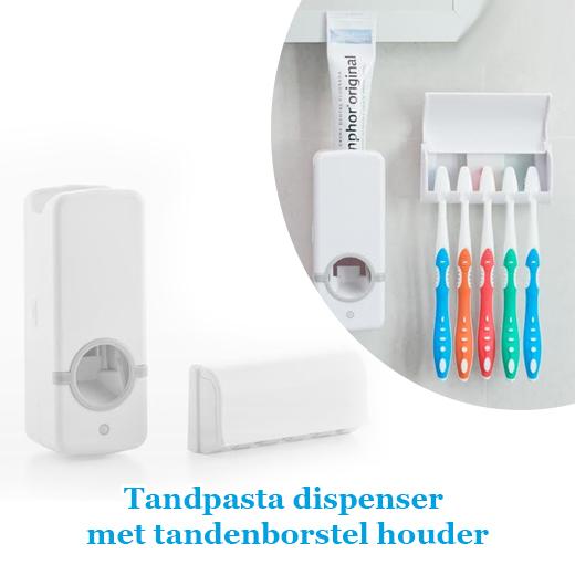 Juiste hoeveelheid tandpasta met de Tandpasta dispenser
