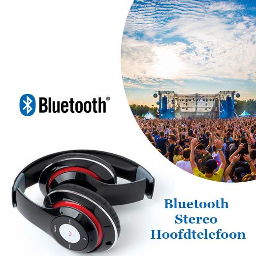 Draadloze Bluetooth Stereo Hoofdtelefoon