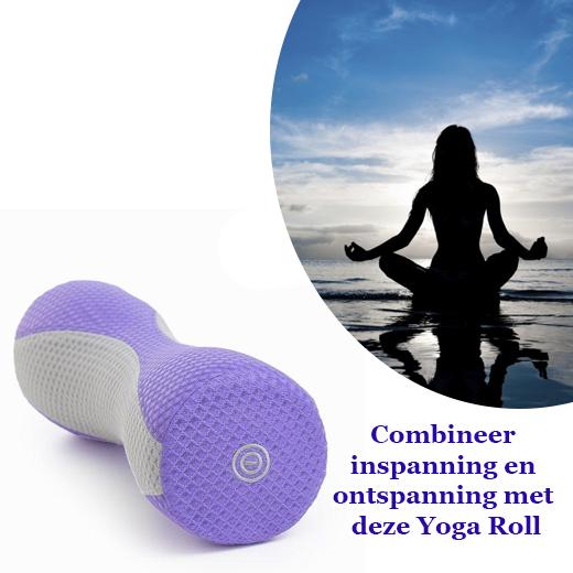 Combineer inspanning en ontspanning met deze Yoga Roll