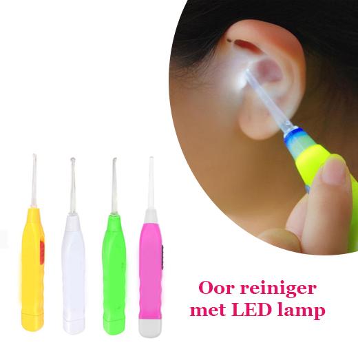 Houd je oren veilig en makkelijk schoon met de LED Oorreinigers