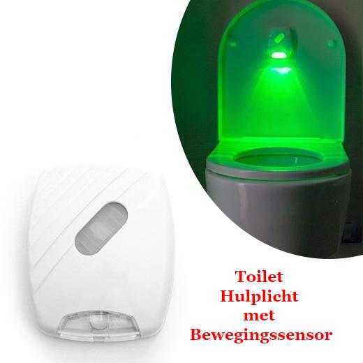 Toilet Hulplicht met Bewegingssensor