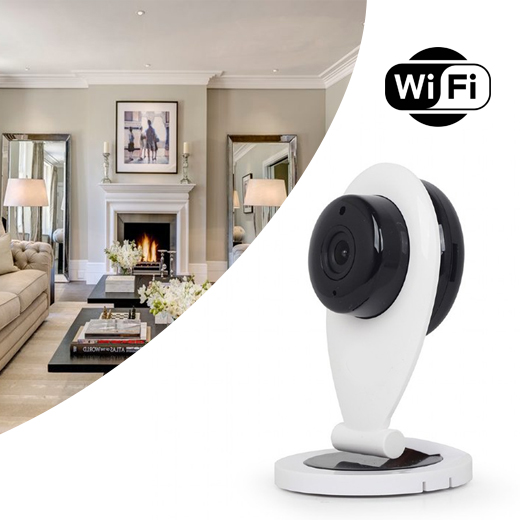 Haarscherp full-HD Smart WiFi Camera