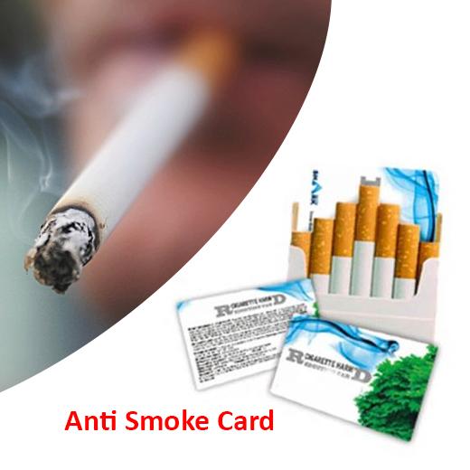 Hulpmiddel om te stoppen met roken - Anti Smoking Card