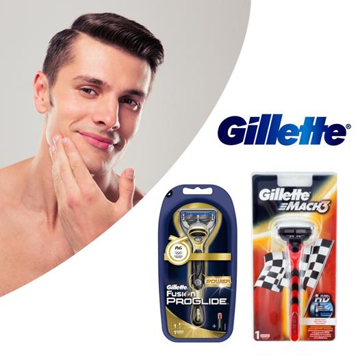 Perfect glad scheerresultaat met Originel Gillette scheermessen