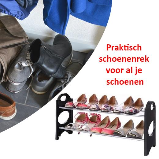 Praktisch schoenenrek voor al je schoenen