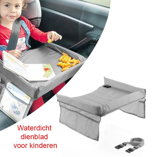 Waterdicht dienblad voor kinderen - ideaal voor onderweg