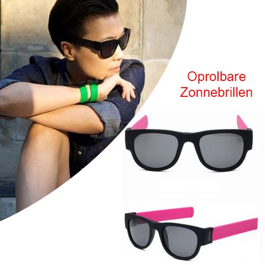 De nieuwe zomerhype - Oprolbare zonnebrillen