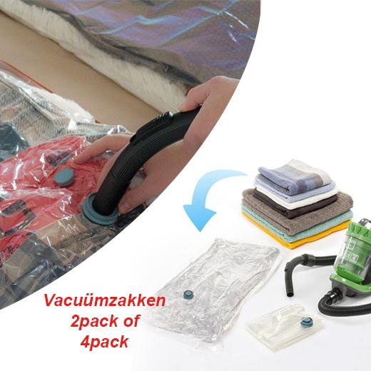 Eenvoudig al je kleding opbergen met deze Vacuumzakken