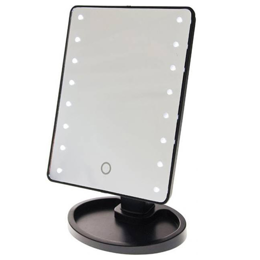 touch screen make up spiegel met led verlichting. Black Bedroom Furniture Sets. Home Design Ideas