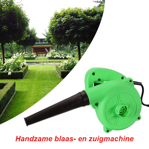 Een compacte multifunctionele blazer - blower 500W