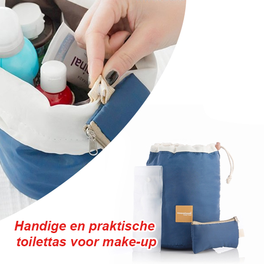 Handige en praktische toilettas voor make-up die je perfect kan meenemen