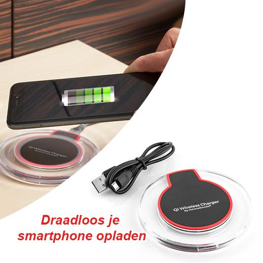 Draadloos je smartphone opladen, nu kan het!