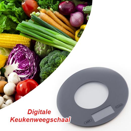 Praktisch en makkelijk Digitale Keukenweegschaal met LCD display