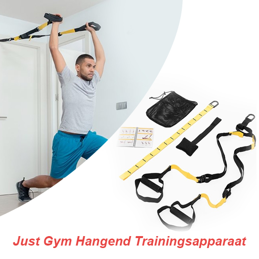 Perfecte training met de Just Gym Hangend Trainingsapparaat