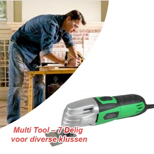 Multi Tool - 7 Delig voor diverse klussen